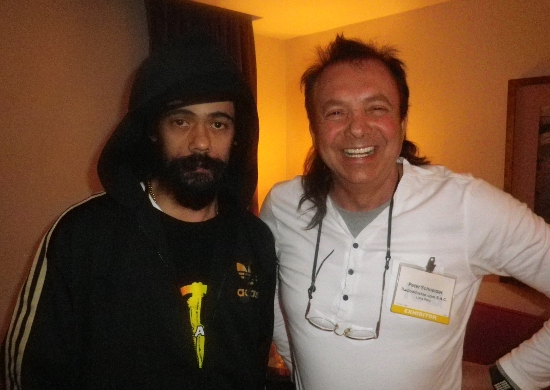 Ky Mani Marley with Pete