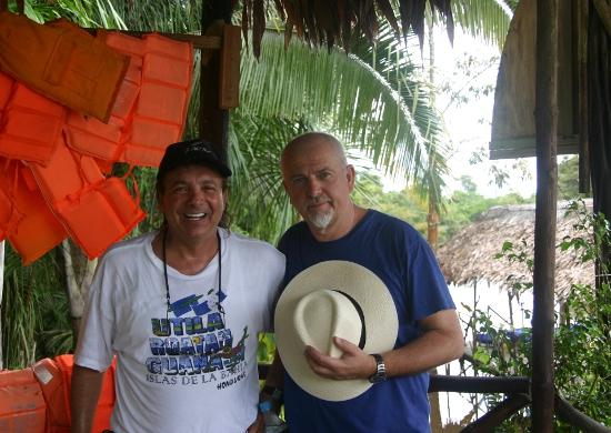 Con Peter Gabriel (Genesis)