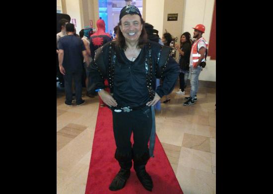 Pete el Pirata en Halloween