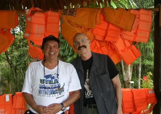 Con Toni Levin (King Krimson)
