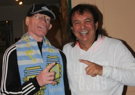 Yellowman with Pete