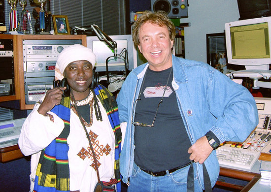 Makeda with Pete