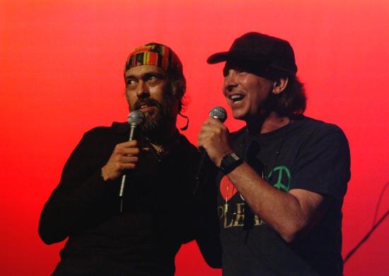 Pochi Marambio y Pete