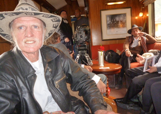 set Amor a Vida - Globo TV (Cusco train)